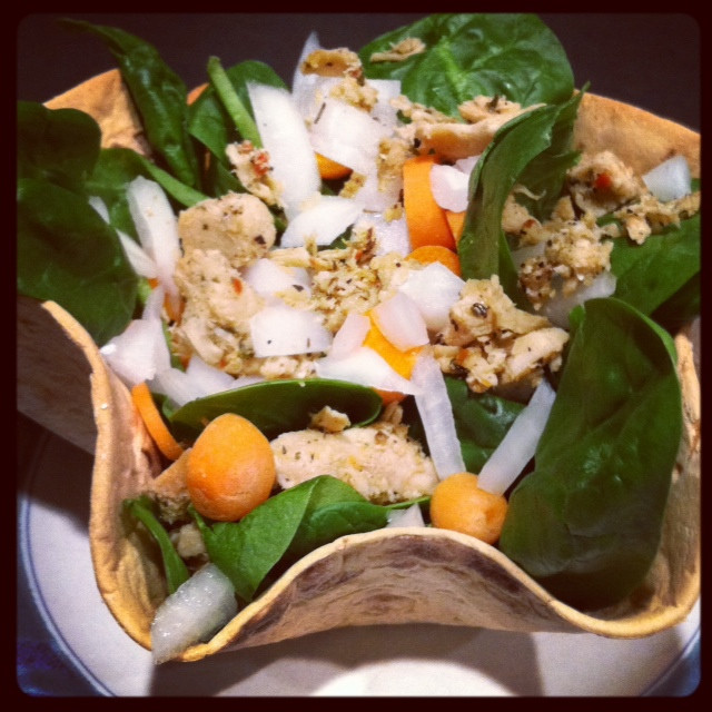Healthy Side Dishes For Tacos  Light & Healthy Taco Salad