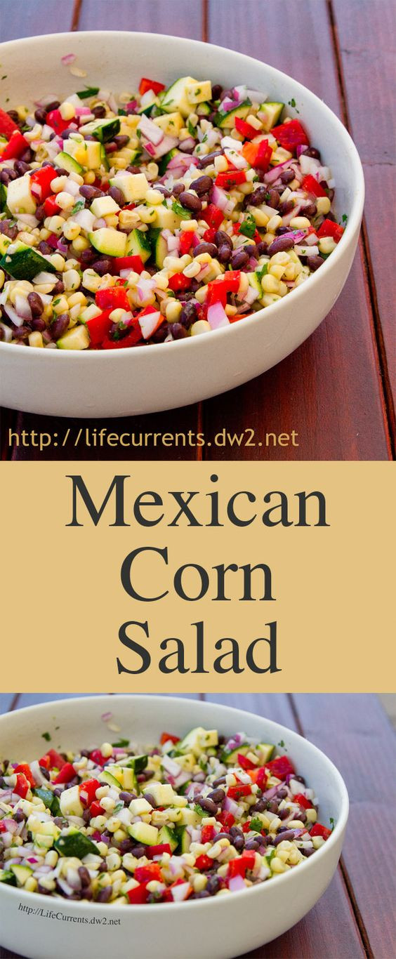 Healthy Side Dishes For Tacos  Greek yogurt dressing Tacos and Mexican corn on Pinterest