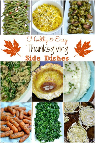 Healthy Side Dishes For Thanksgiving  Simple Recipes Archives Page 8 of 30 To Simply Inspire
