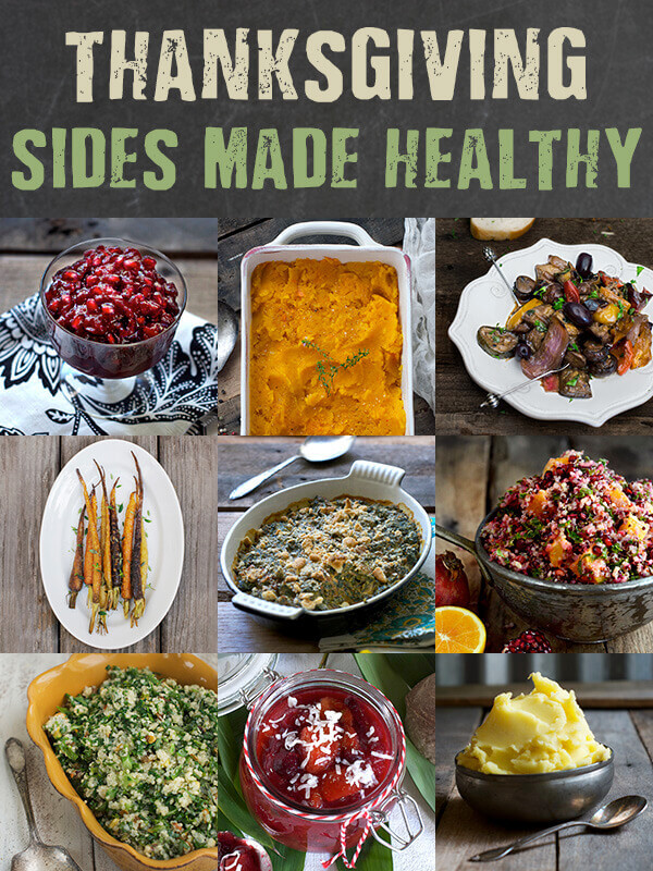 Healthy Side Dishes For Thanksgiving  Healthy Thanksgiving Side Dishes for Any Meal