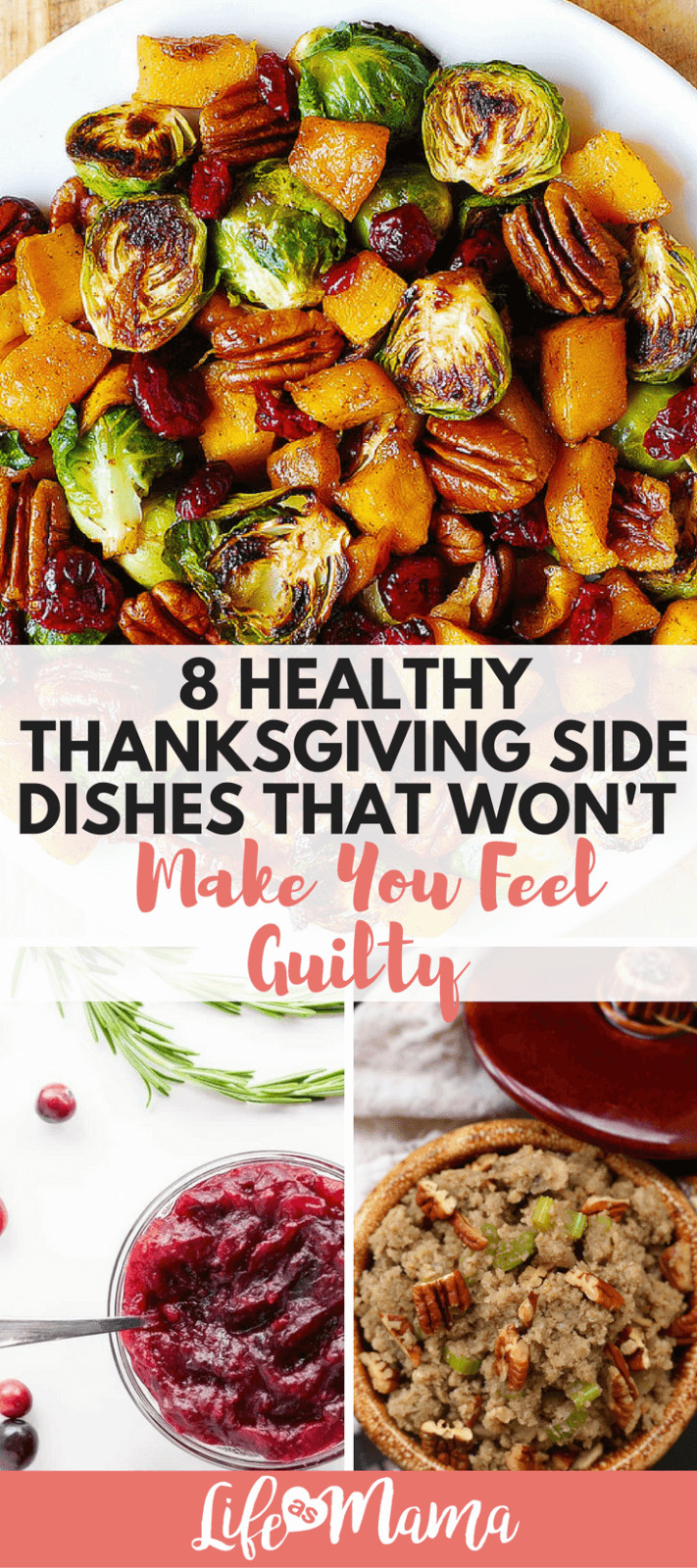 Healthy Side Dishes For Thanksgiving  8 Healthy Thanksgiving Side Dishes That Won t Make You