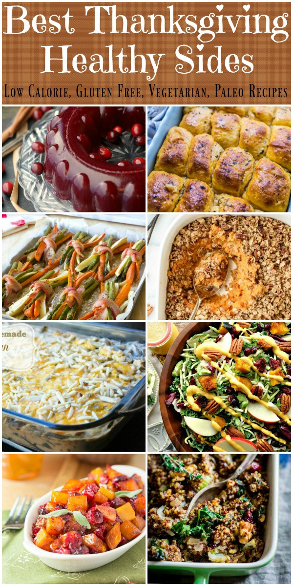 Healthy Side Dishes For Thanksgiving  Best Healthy Thanksgiving Side Dish Recipes