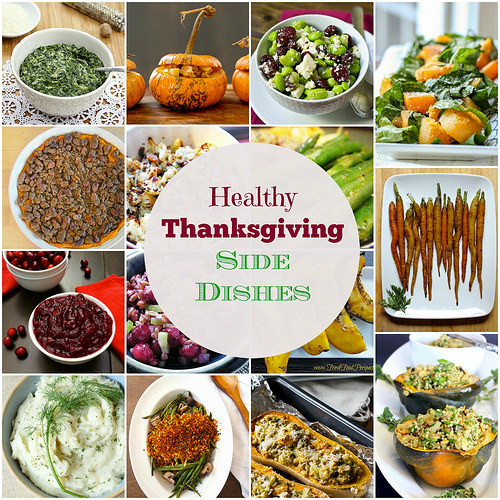 Healthy Side Dishes For Thanksgiving  Menu Plan Monday Nov 17 14