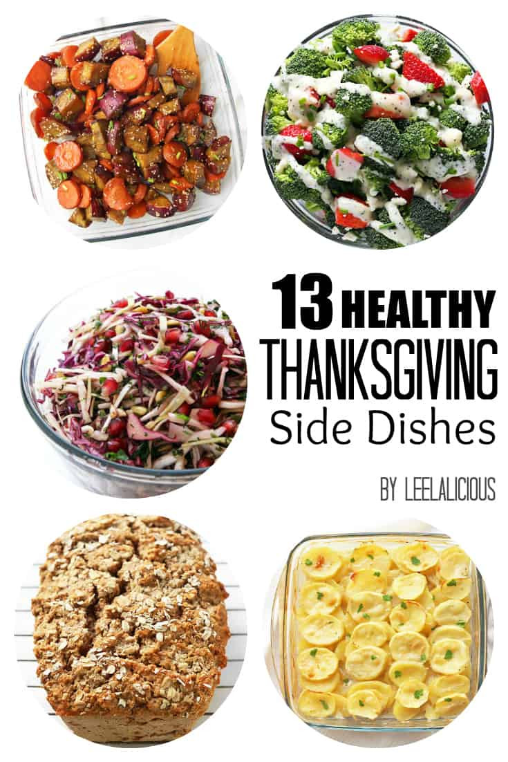 Healthy Side Dishes For Thanksgiving  Healthy Side Dishes – LeelaLicious