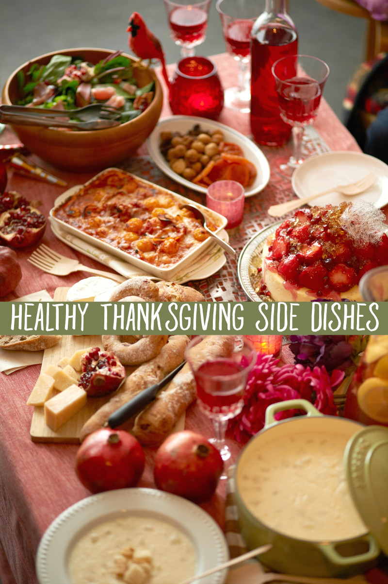 Healthy Side Dishes For Thanksgiving  Healthy Side Dishes To Bring To Thanksgiving Dinner