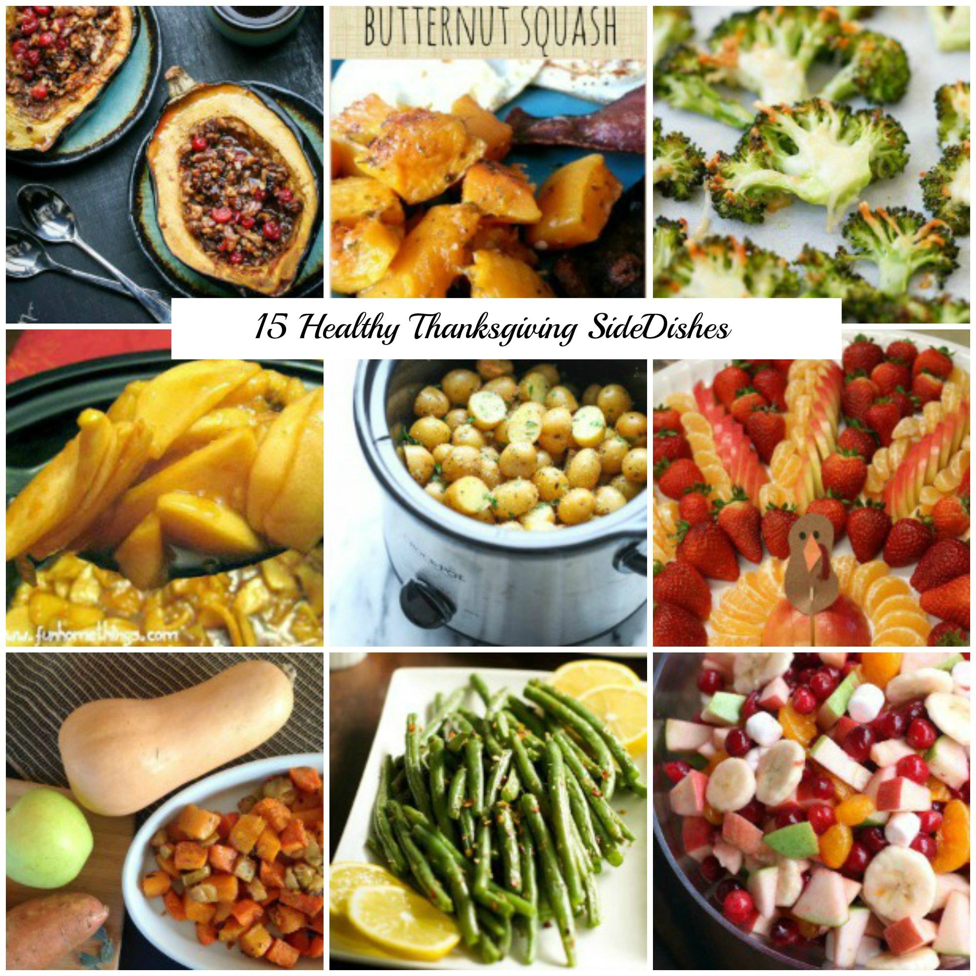 Healthy Side Dishes For Turkey  15 Healthy Thanksgiving Side Dish Recipes That are Still