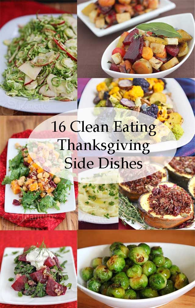 Healthy Side Dishes For Turkey  16 Clean Eating Thanksgiving Side Dish Recipes