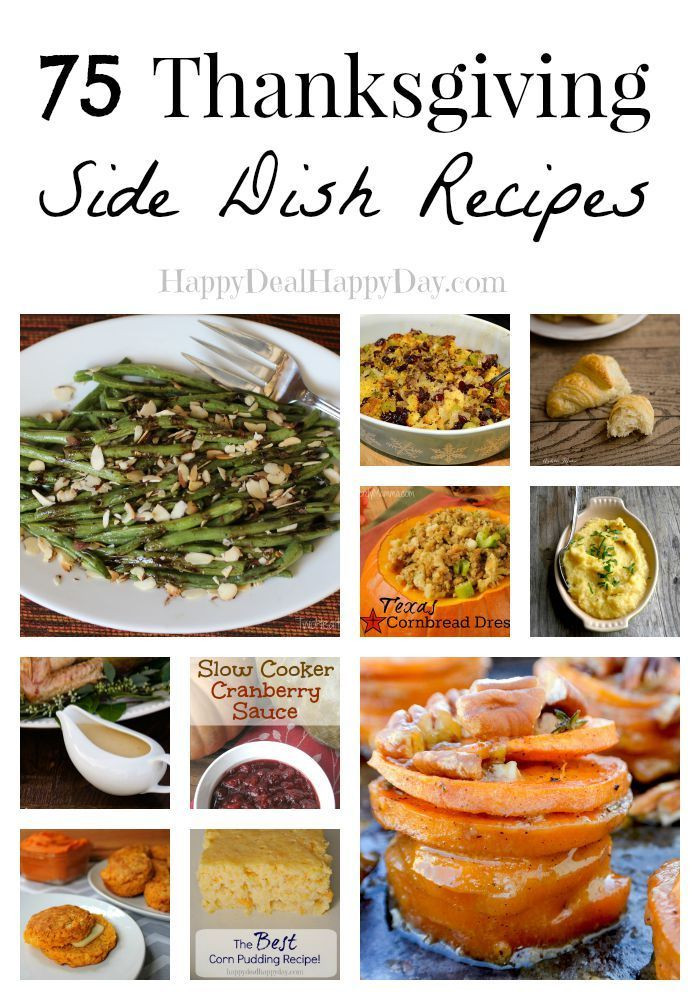 Healthy Side Dishes For Turkey  75 Thanksgiving Side Dish Recipes Look No Further For