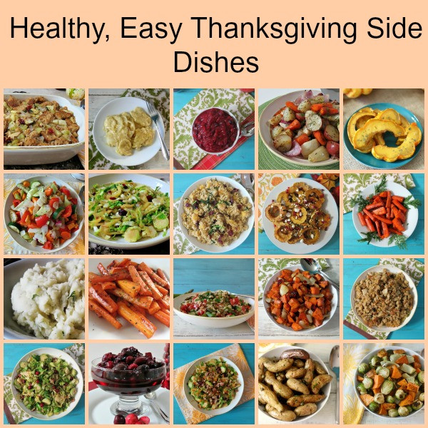 Healthy Side Dishes For Turkey  Thanksgiving Side Dishes