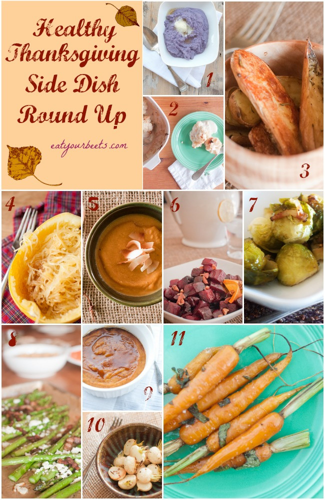Healthy Side Dishes For Turkey  Healthy Thanksgiving Side Dishes Eat Your Beets