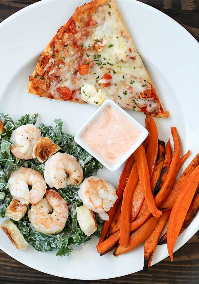 Healthy Side Dishes  Baked Sweet Potato Fries Kale Caesar Salad 2 healthy