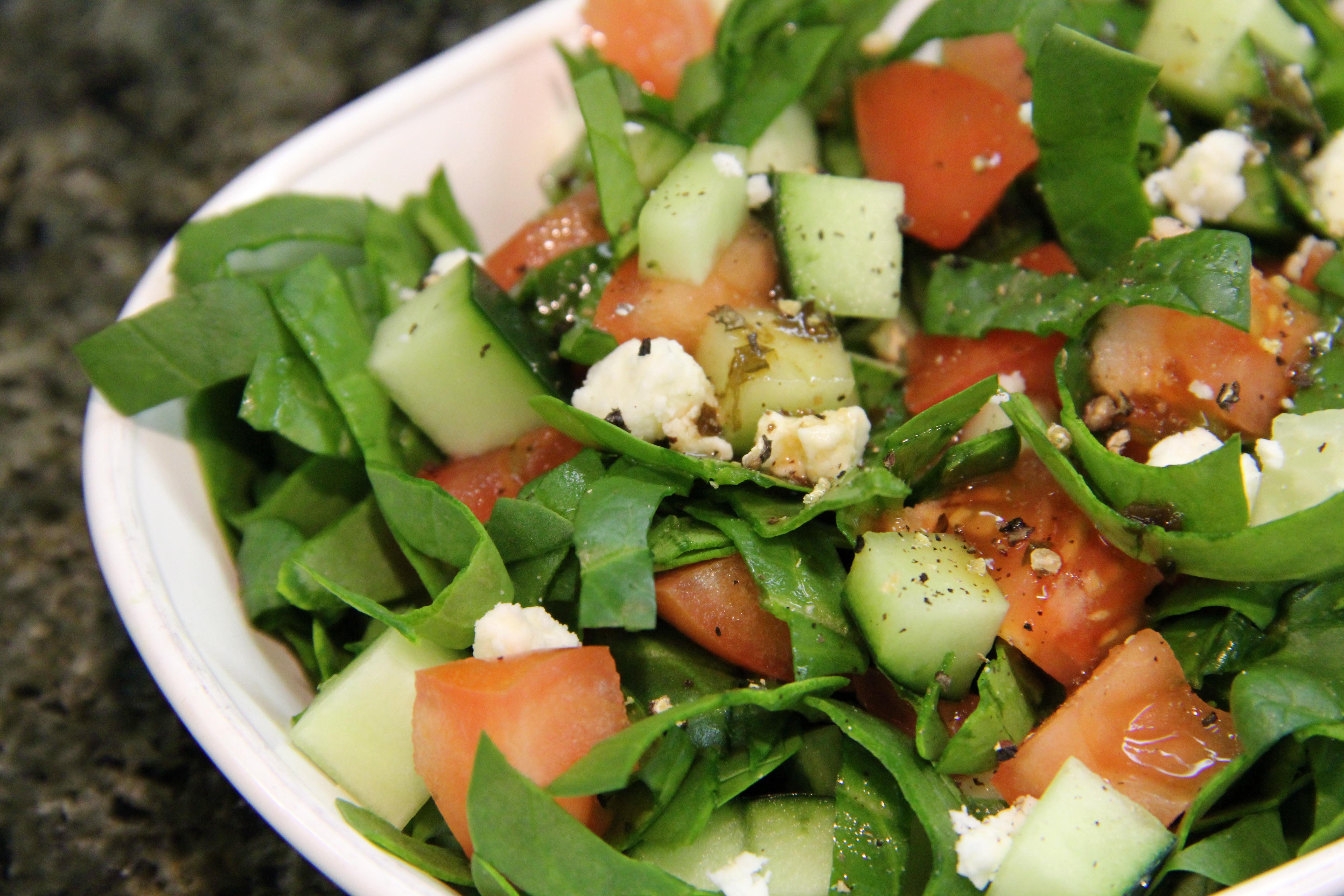 Healthy Side Salads  Feta Salad