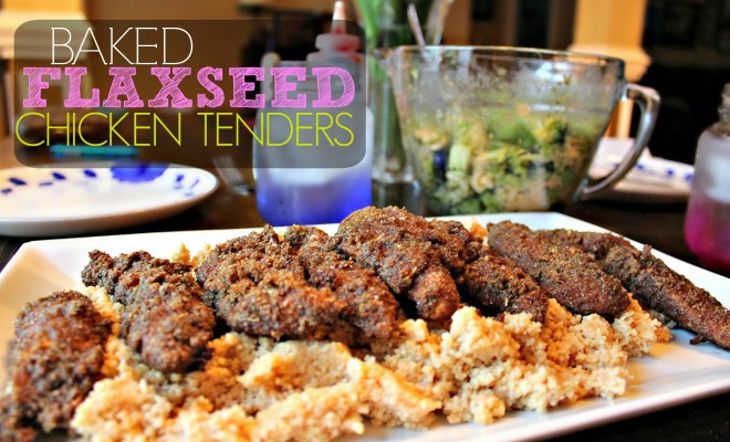 Healthy Sides For Baked Chicken  Baked Flaxseed Chicken Fingers – Simply Taralynn
