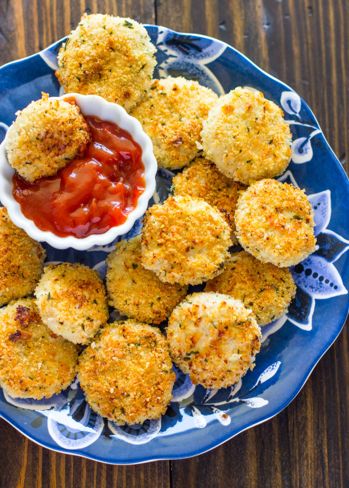 Healthy Sides For Baked Chicken  Healthy Baked Parmesan Chicken Nug s