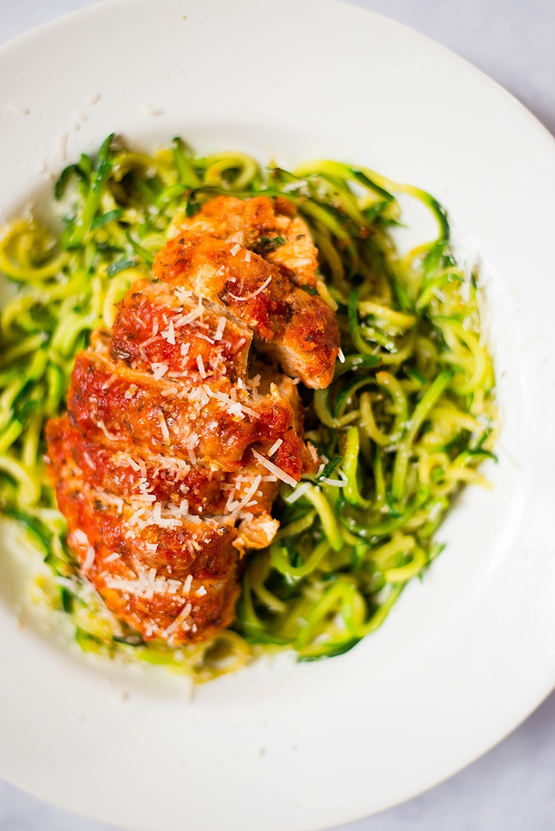 Healthy Sides For Baked Chicken  Healthy Baked Chicken Parmesan