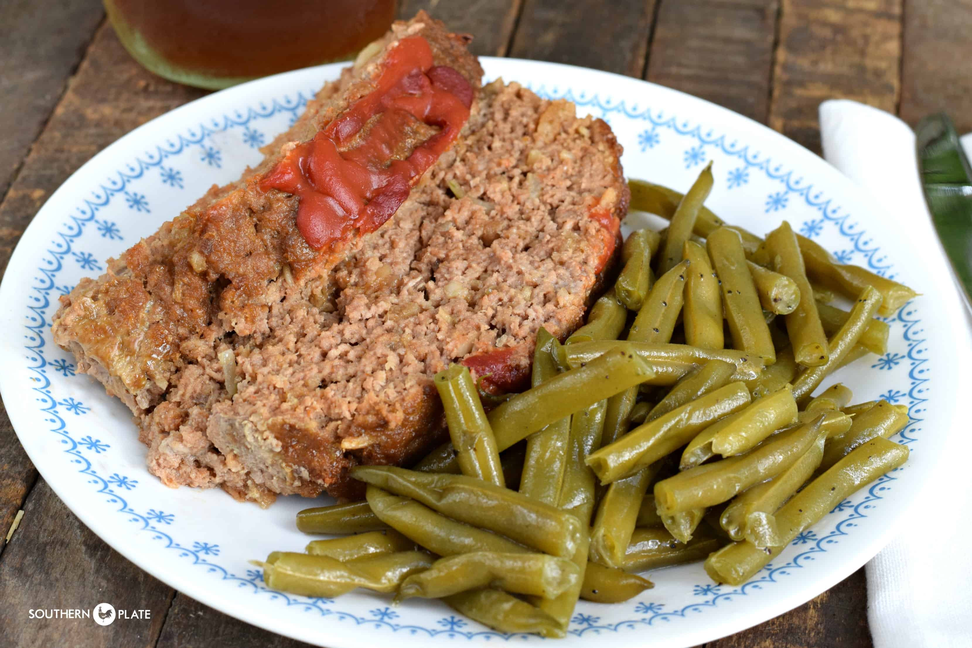 Healthy Sides For Meatloaf  Fresh Green Beans Southern Plate
