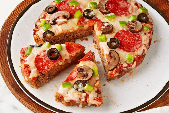 Healthy Sides For Meatloaf  Pizza Meatloaf Kraft Recipes