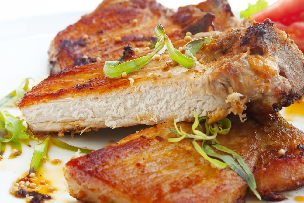 Healthy Sides For Pork Chops  Recipe Grilled pork chops