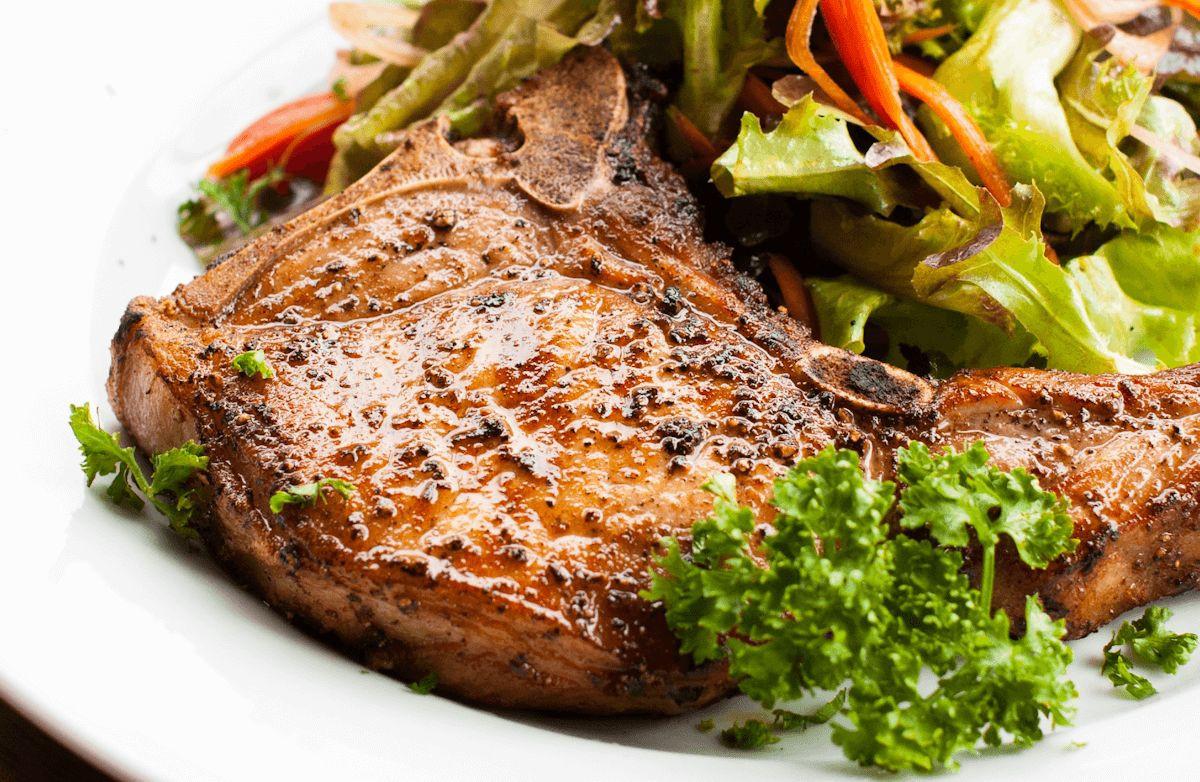 Healthy Sides For Pork Chops  Cracker Barrel Grilled Pork Chops Recipes