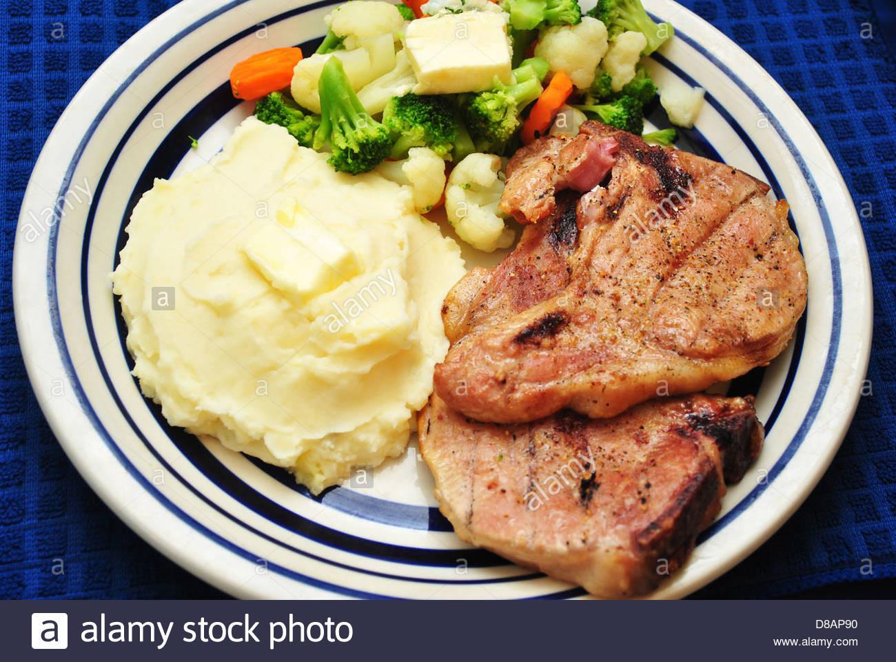 Healthy Sides For Pork Chops  sides for grilled steak dinner