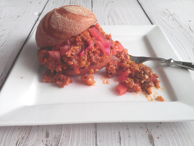 Healthy Sides For Sloppy Joes  Sloppy Joes Made Healthy Culinary Zest