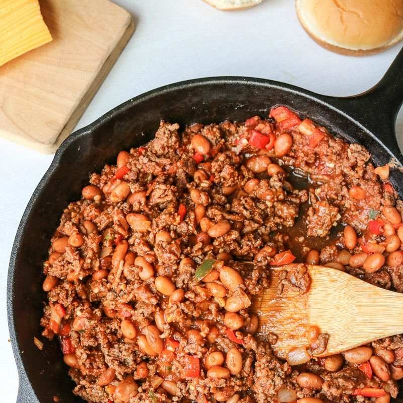 Healthy Sides For Sloppy Joes  Healthy Homemade Sloppy Joes Make Over of the Classic Recipe