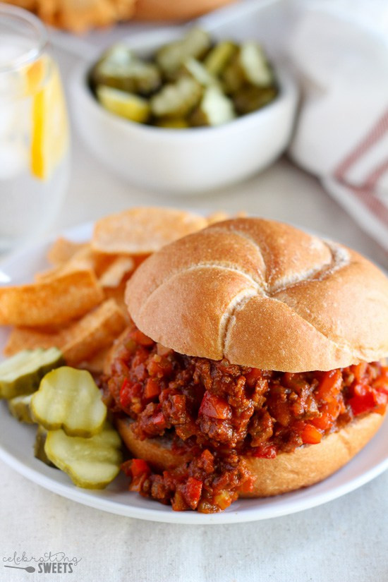 Healthy Sides For Sloppy Joes  5 Healthier for You Sloppy Joe Recipes SoFabFood