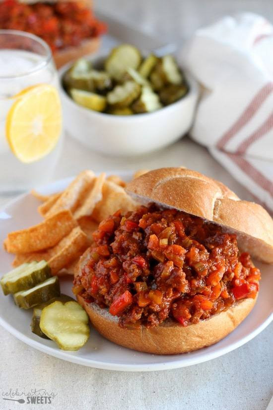 Healthy Sides For Sloppy Joes  Healthier Sloppy Joes