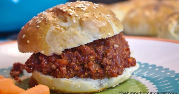 Healthy Sides For Sloppy Joes  Quick & Easy Healthy Homemade Sloppy Joes TheHippyHomemaker
