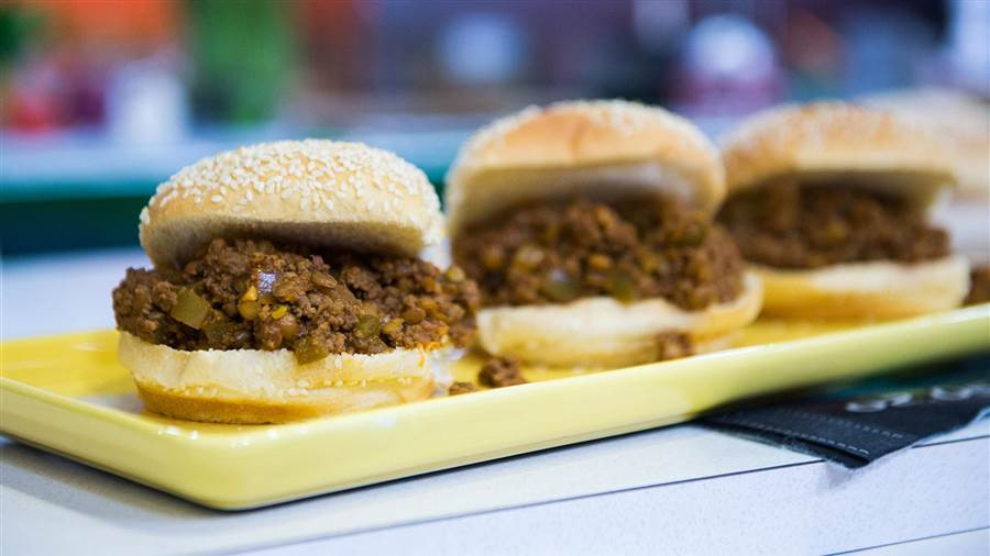 Healthy Sides For Sloppy Joes  Healthy Super Bowl recipes Sloppy Joes guacamole and