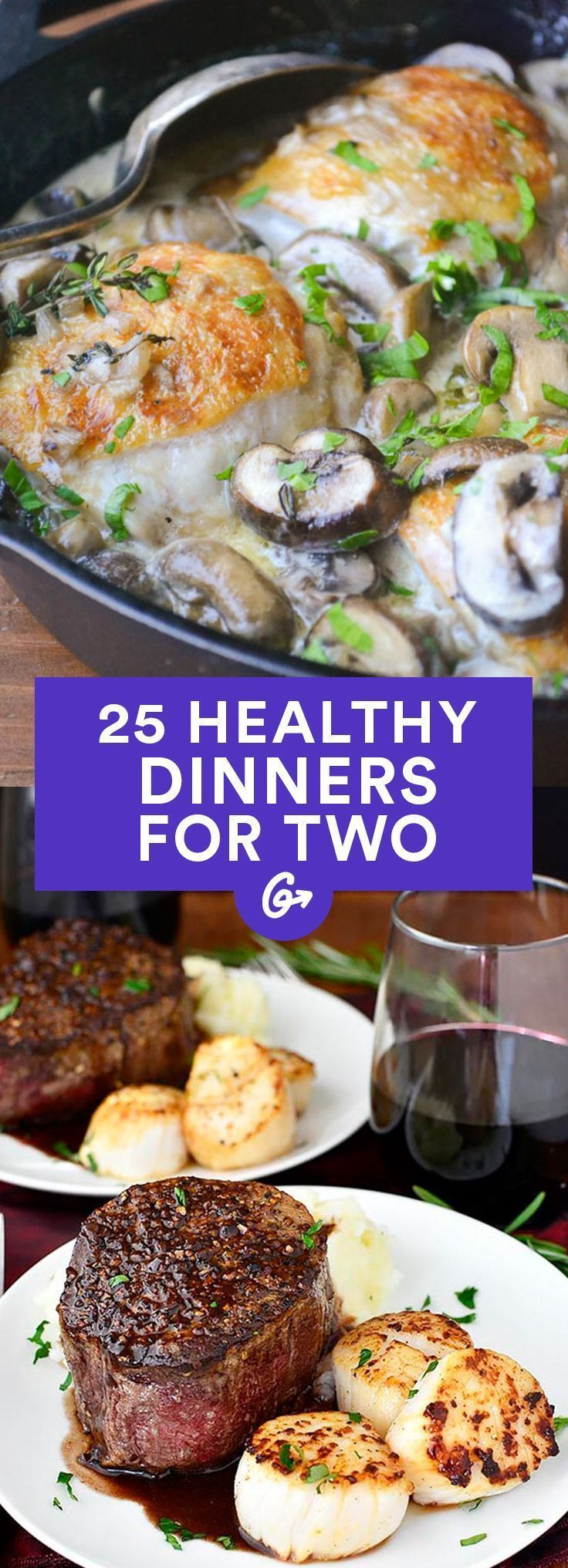 Healthy Simple Dinners For Two  100 Healthy Dinner Recipes on Pinterest