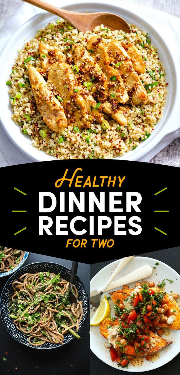 Healthy Simple Dinners For Two  Best 25 Healthy meals for two ideas on Pinterest