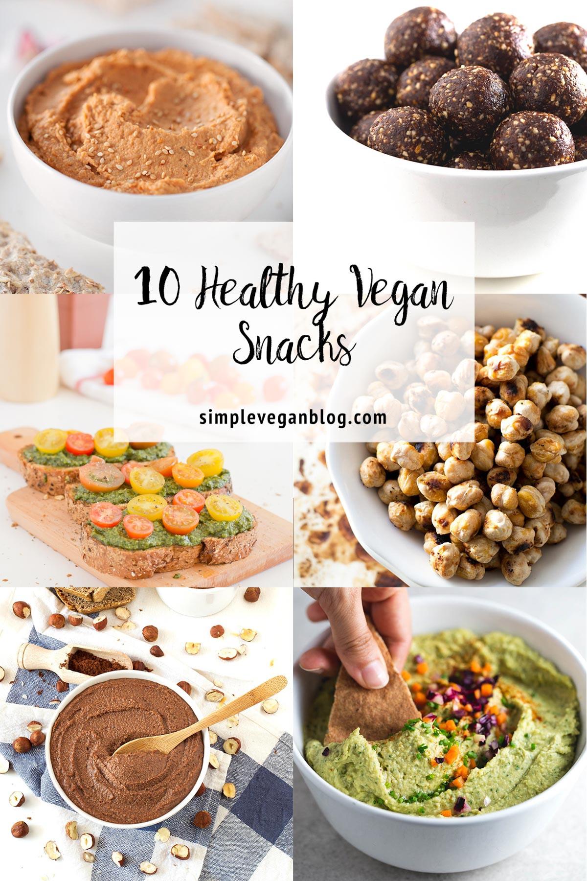 Healthy Simple Snacks  10 Healthy Vegan Snacks