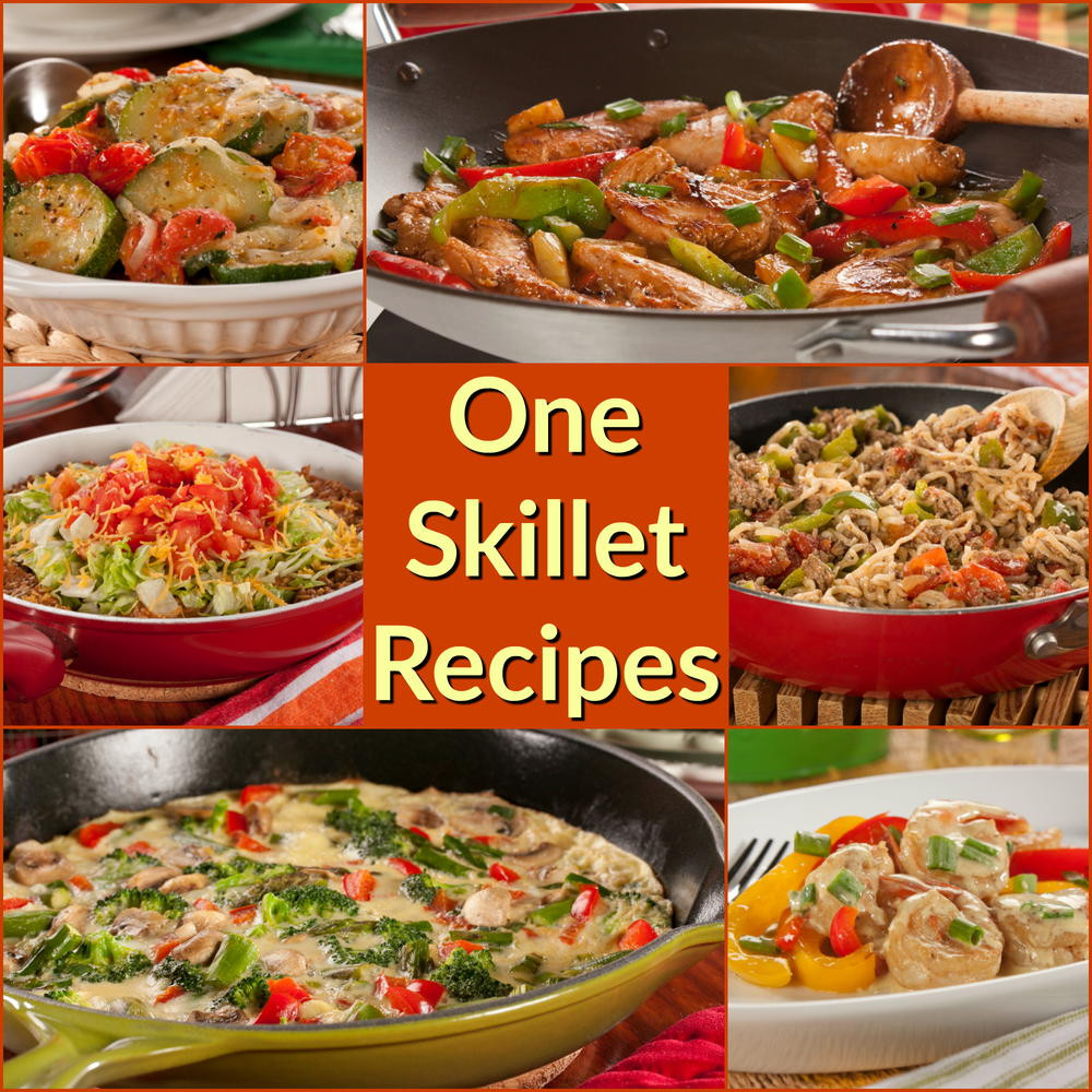 Healthy Skillet Dinners  12 Easy e Skillet Recipe Healthy Skillet Recipes The