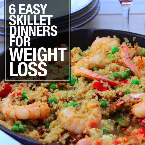 Healthy Skillet Dinners  6 Easy Skillet Dinners for Weight Loss
