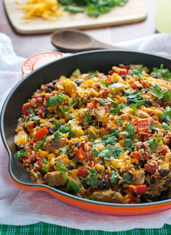 Healthy Skillet Dinners  e Skillet Spicy Ranch Chicken