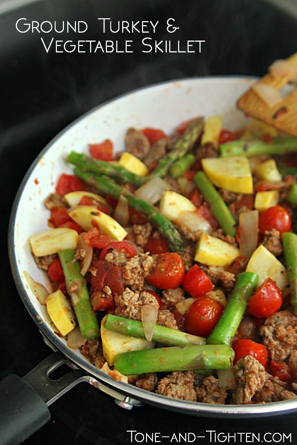 Healthy Skillet Dinners  Protein Packed Turkey and Ve able Skillet