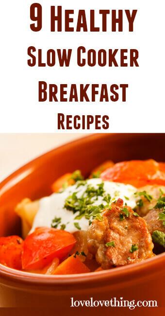 Healthy Slow Cooker Breakfast  9 Healthy Slow Cooker Breakfast Recipes It s a love love