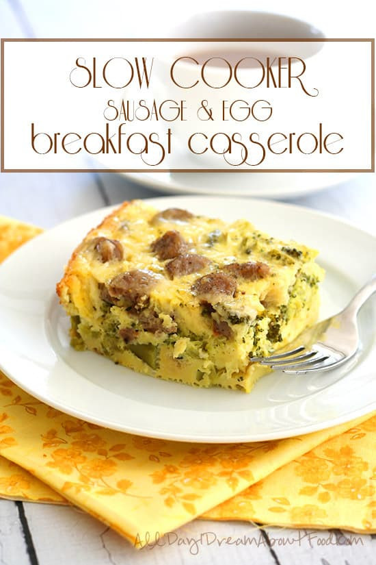 Healthy Slow Cooker Breakfast  Easy and Healthy Make Ahead Breakfast Recipes for the