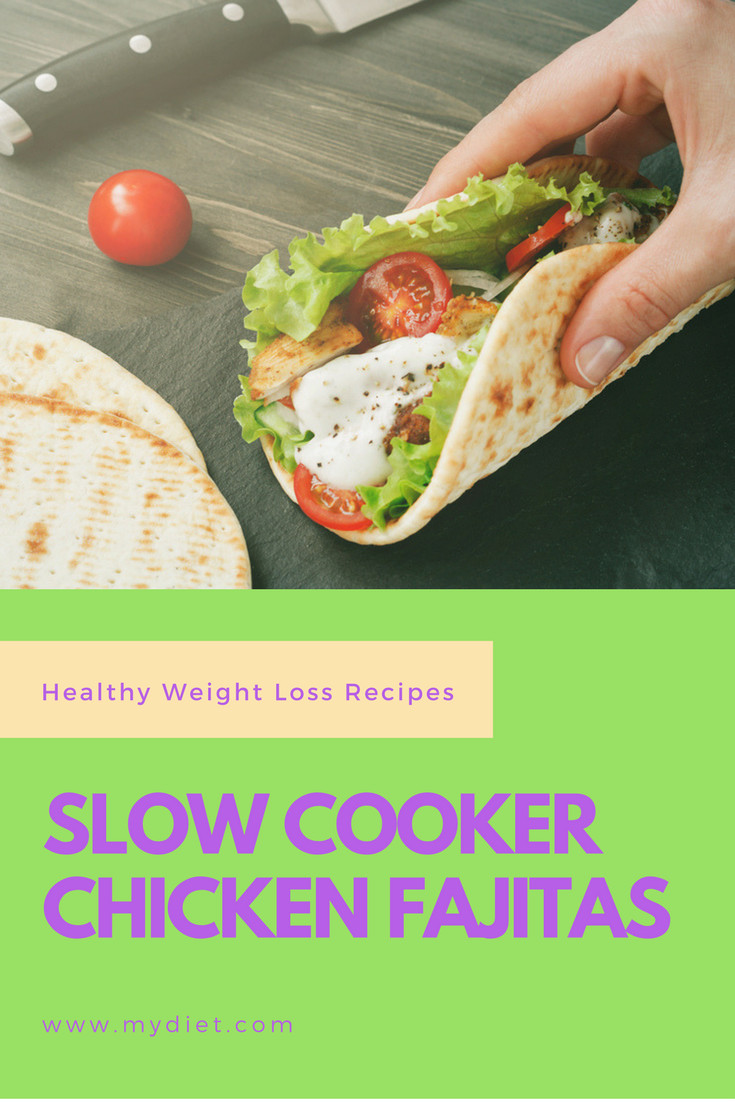 Healthy Slow Cooker Chicken Recipes For Weight Loss  Healthy Weight Loss Recipes Slow Cooker Chicken Fajitas