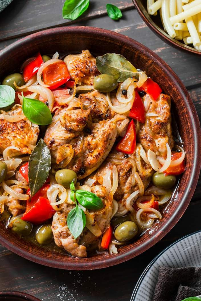 Healthy Slow Cooker Chicken Recipes For Weight Loss  Slow Cooker Mediterranean Chicken Weight Loss Reviews