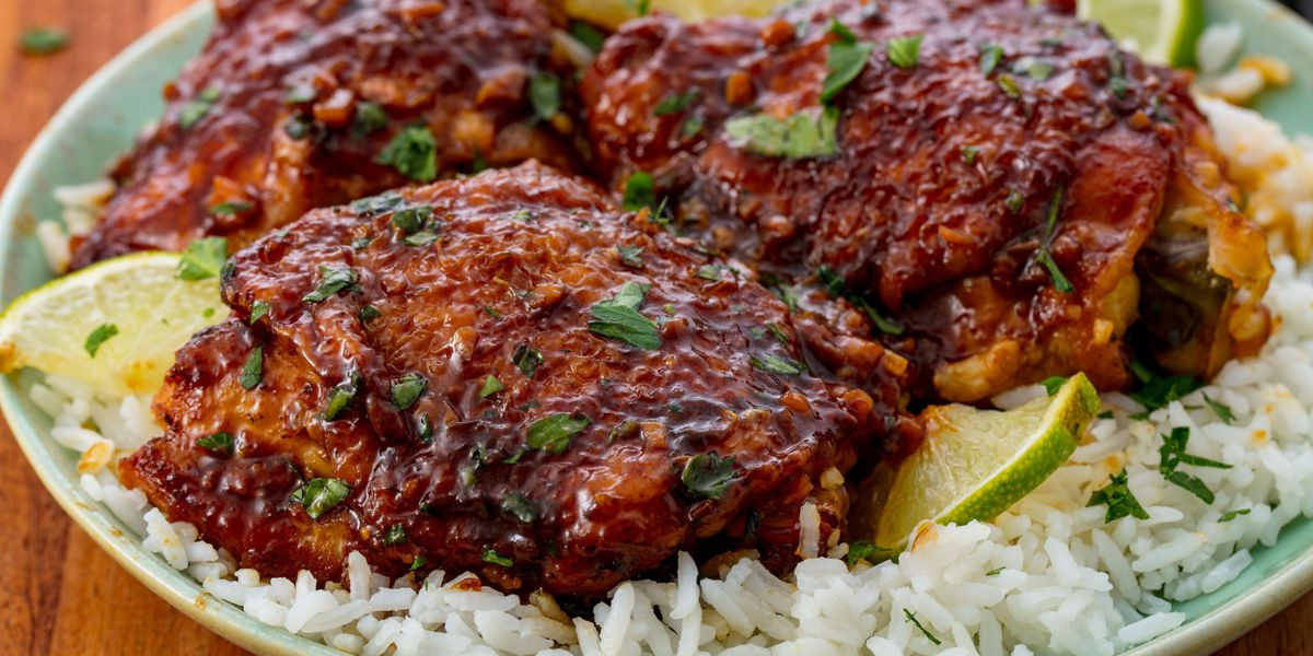 Healthy Slow Cooker Chicken Thighs  Easy Slow Cooker Chicken Thighs Recipe How to Make