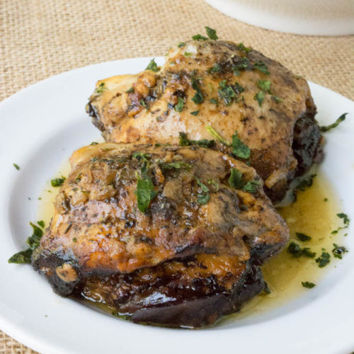 Healthy Slow Cooker Chicken Thighs  Slow Cooker Balsamic Caprese Stuffed Chicken Thighs Get
