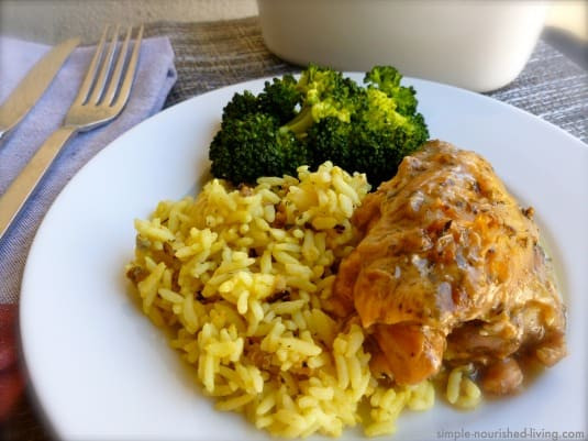 Healthy Slow Cooker Chicken Thighs  Slow Cooker Chicken Thighs with Beer and Herbes