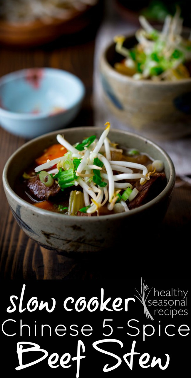 Healthy Slow Cooker Chinese Recipes the 20 Best Ideas for Slow Cooker Chinese 5 Spice Beef Stew Healthy Seasonal