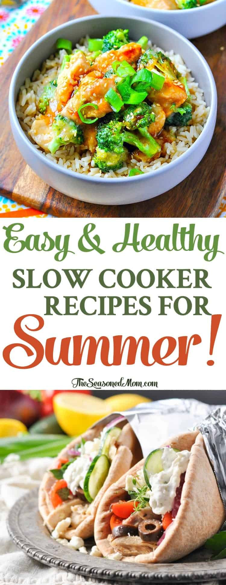 Healthy Slow Cooker Dinner Recipes  Easy Healthy Slow Cooker Recipes for Summer The