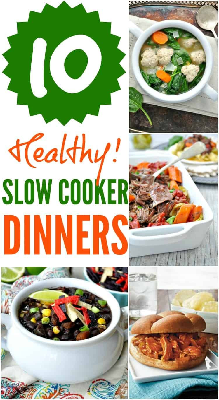 Healthy Slow Cooker Dinners  10 Healthy Slow Cooker Dinners The Seasoned Mom
