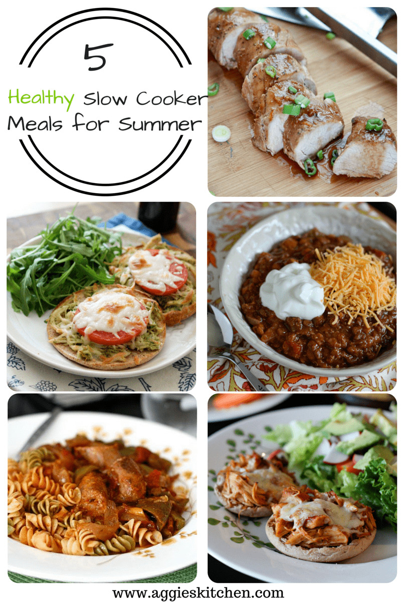 Healthy Slow Cooker Dinners  5 Healthy Slow Cooker Meals for Summer