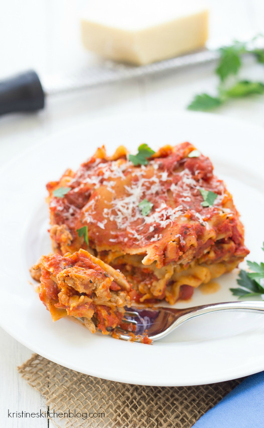 Healthy Slow Cooker Lasagna  Healthy Slow Cooker Recipes The Best Easy fort Food