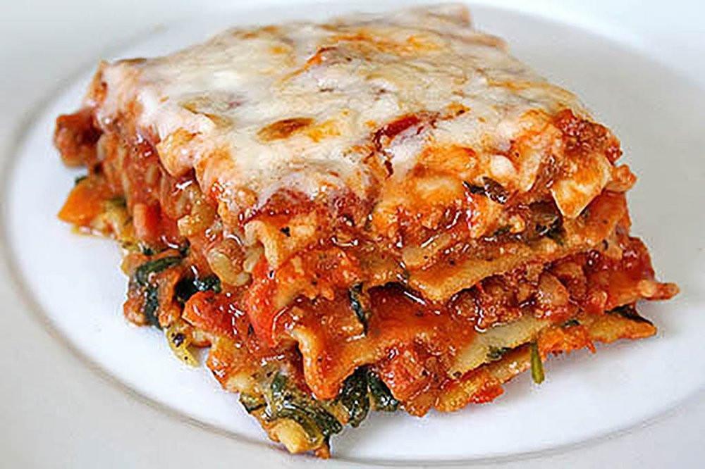 Healthy Slow Cooker Lasagna  Slow Cooker Ve able Lasagna
